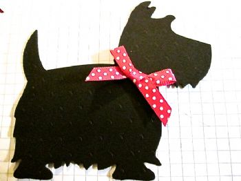 Die Cut Spotty Scotties